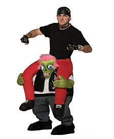 BuySeason Men's Biker Zombie Ride-On Costume