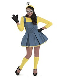 BuySeason Women's Minions Jumper Costume