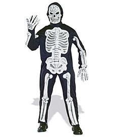 BuySeason Men's Molded Bones Skeleton Costume
