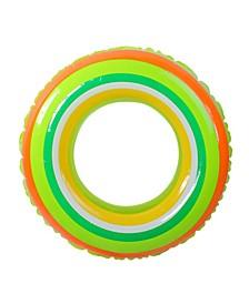 """35"""" Inflatable Stripe Swimming Pool Inner Tube Ring Float"""