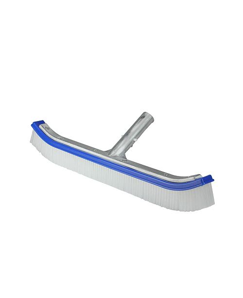 """Northlight 18"""" Standard Curve Nylon Bristle Wall Brush with Aluminum Support"""