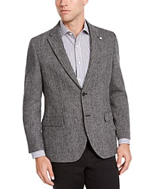 Men's Modern-Fit Herringbone Sport Coat