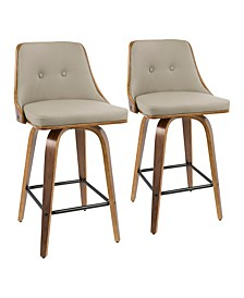 Gianna Counter Stool, Set of 2