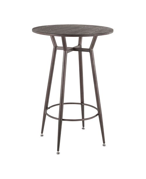 Lumisource Clara Round Bar Table