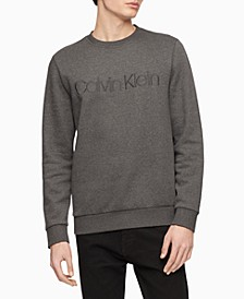 Men's Tonal Embroidered Logo Fleece Sweatshirt