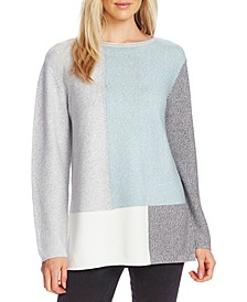 Colorblocked Tunic Sweater