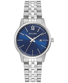 Women's Classic Stainless Steel Bracelet Watch 32mm