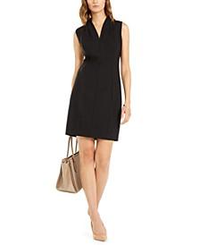 Amabel V-Neck Sheath Dress