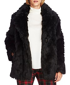 Faux-Fur Shag Coat