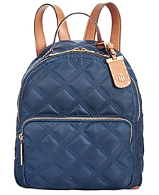 Julia Quilted Nylon Dome Backpack, Created for Macy's