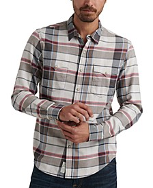 Men's Derek Snap Plaid Shirt