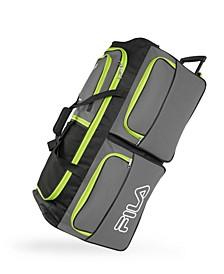 "30"" 7-Pocket Rolling Duffel Bag"