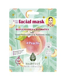 Face Mask Peach Hyaluronic Acid