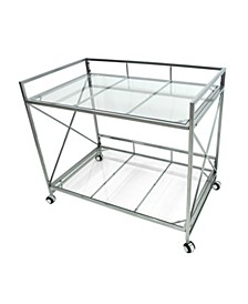 Angel Modern Bar Cart, Quick Ship