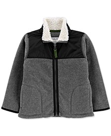 Toddler Boys Fleece Zip-Up Jacket