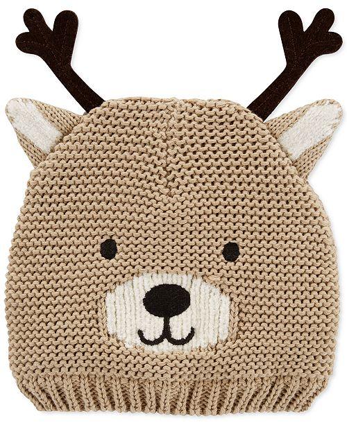Carter's Baby Boys & Girls Knit Reindeer Hat