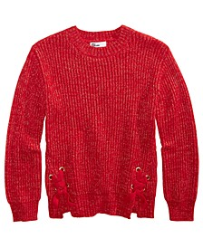 Big Girls Side-Tie Sweater, Created For Macy's