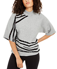 Alfani Embellished Kimono Sweater, Created For Macy's