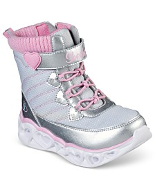 Skechers Toddler Girls Twinkle Toes Glitzy Glam Sparkle Sweet Boots from Finish Line