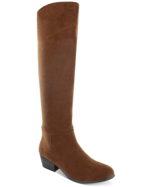 Vintage Boots, Retro Boots Esprit Treasure Suede Dress Boots Womens Shoes $59.40 AT vintagedancer.com
