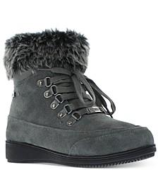 Women's Francie Boots with Faux Fur Trim