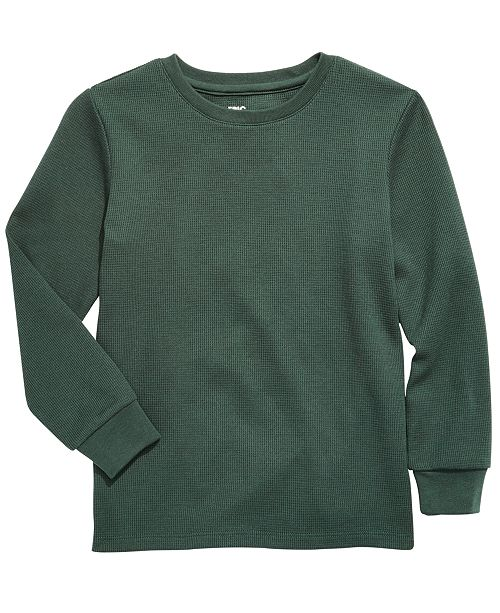 Epic Threads Little Boys Solid Thermal, Created For Macy's