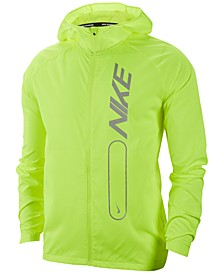 Men's Essential Water-Repellent Running Jacket