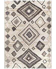 "Casablanca Tribal 04 Lambswool 7'10"" x 10'10"" Area Rug"