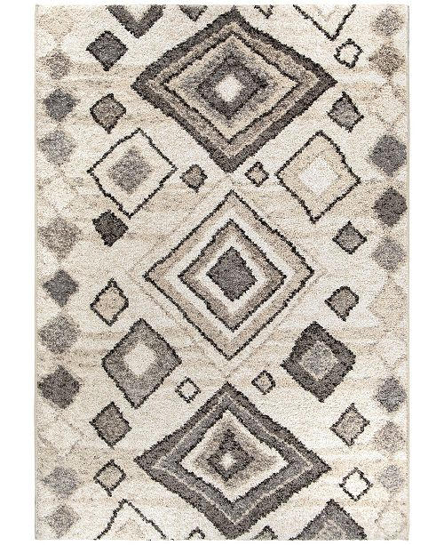 "Palmetto Living Casablanca Tribal 04 Lambswool 7'10"" x 10'10"" Area Rug"