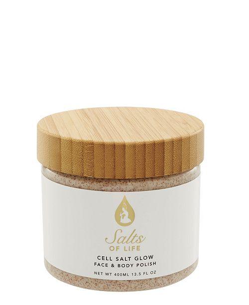 Tiffany Andersen Brands Cell Salt Glow Scrub feat. Hemp Seed Oil