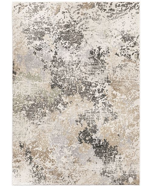 "Palmetto Living Riverstone Digital Stream Multi 6'7"" x 9'6""  Area Rug"