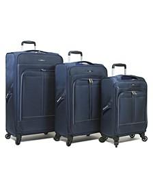 Apollo Lightweight 3-Pc. Soft Side Easy Navigation Luggage Set