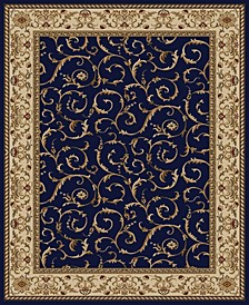 "CLOSEOUT! 1599/1551/NAVY Pesaro Blue 5'5"" x 7'7"" Area Rug"