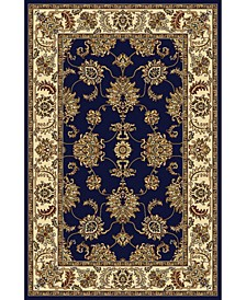 "CLOSEOUT! 1330/1241/NAVY Navelli Blue 5'5"" x 8'3"" Area Rug"