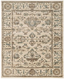 "CLOSEOUT! 3562/0021/BONE Cantu Ivory/ Cream 5'3"" x 7'3"" Area Rug"
