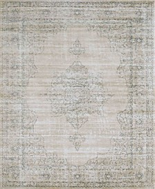 "CLOSEOUT! 3563/0022/BONE Cantu Ivory/ Cream 7'10"" x 10'6"" Area Rug"