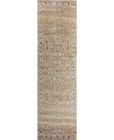 "CLOSEOUT! 3564/0023/BONE Cantu Ivory/ Cream 2'2"" x 7'7"" Runner Rug"