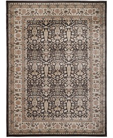 "CLOSEOUT! 3812/1011/BROWN Gerola Brown 5'3"" x 7'3"" Area Rug"