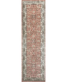 "CLOSEOUT! 3810/0023/TERRACOTTA Gerola Red 2'2"" x 7'7"" Runner Rug"