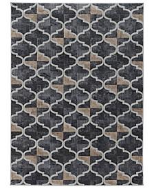 "CLOSEOUT! 3793/1021/Gray Imperia Gray 5'3"" x 7'3"" Area Rug"