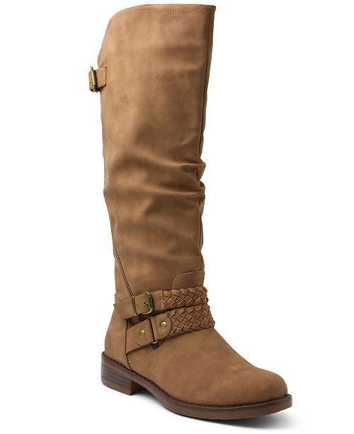 XOXO Mackinley Tall Riding Boots