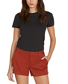 Juniors' Frochickie Low-Rise Shorts