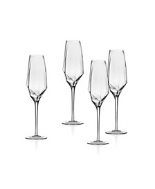 Isla Champagne Flutes - Set of 4