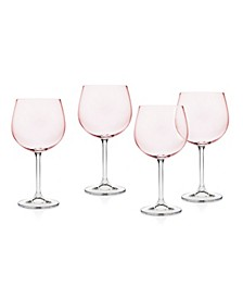 Meridian Blush Goblet - Set of 4