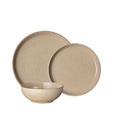 Denby Studio Craft Birch 12 Piece Dinnerware Set, Service for 4