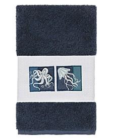 100% Turkish Cotton Ava Embellished Hand Towel