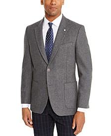 Men's Modern-Ft Solid Sport Coat