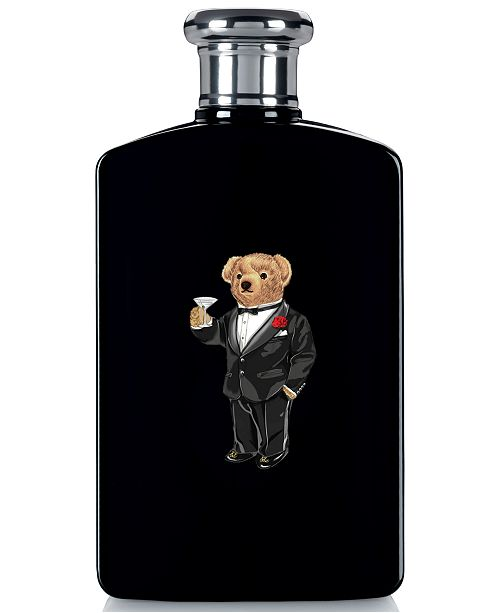 Ralph Lauren Men's Polo Black Eau de Toilette Bear Edition, 6.7-oz.