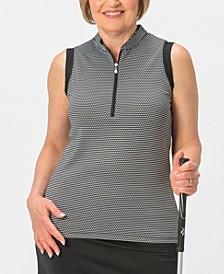Flex Sleeveless Polo Plus