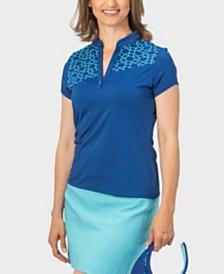 Nancy Lopez Legacy Short Sleeve Polo Plus